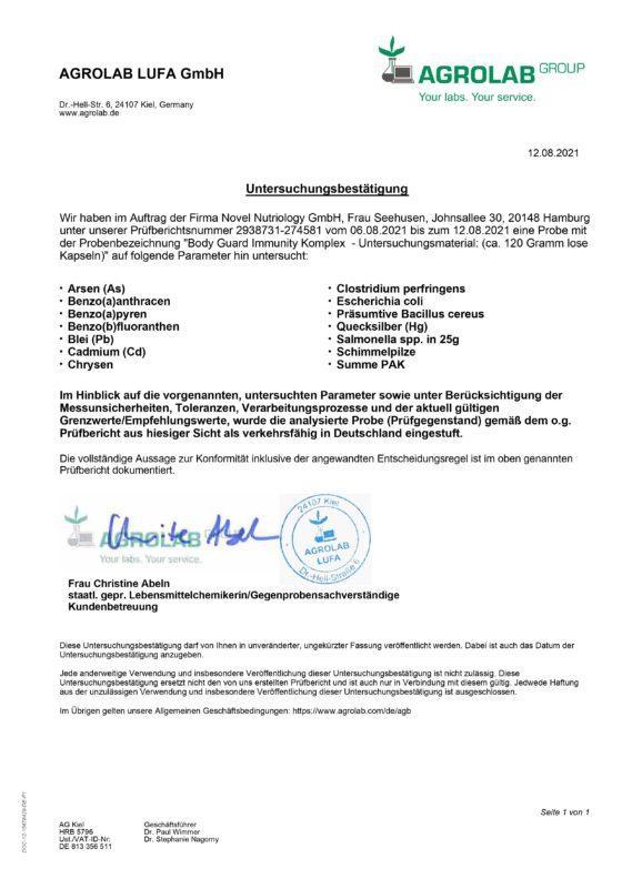 Body-Guard_EXAMINATION_CERTIFICATE_DE
