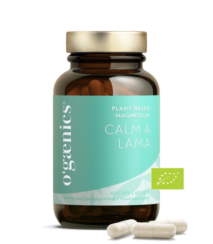 Ogaenics_Nahrungsergaenzungsmittel_Plant-Based_Magnesium_Calm-A-Lama