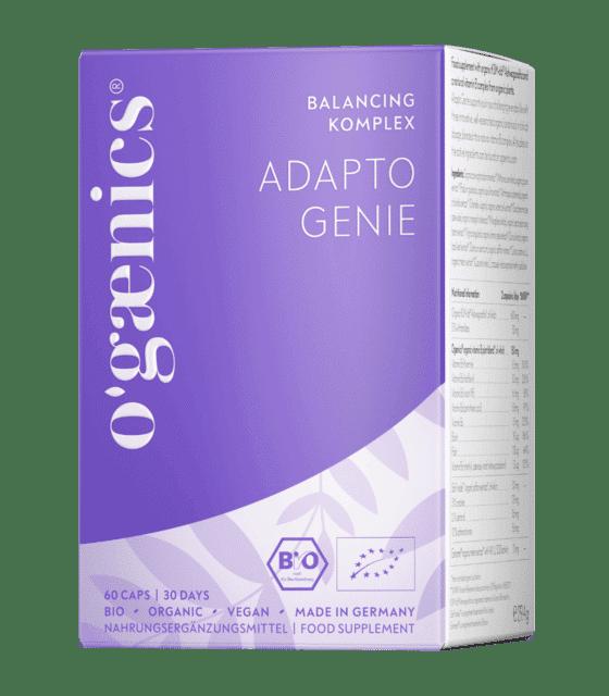 ogaenics-adapto-genie-balancing-bio-nahrungsergaenzung-Packung
