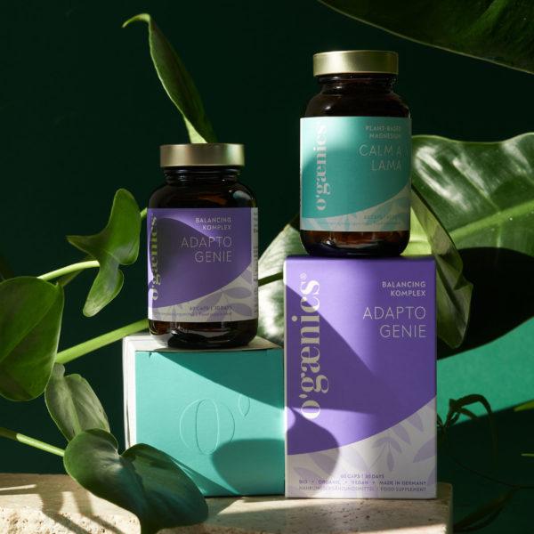 Schlaf und Stimmung Set Magnesium, Ashwagandha und Vitamin B