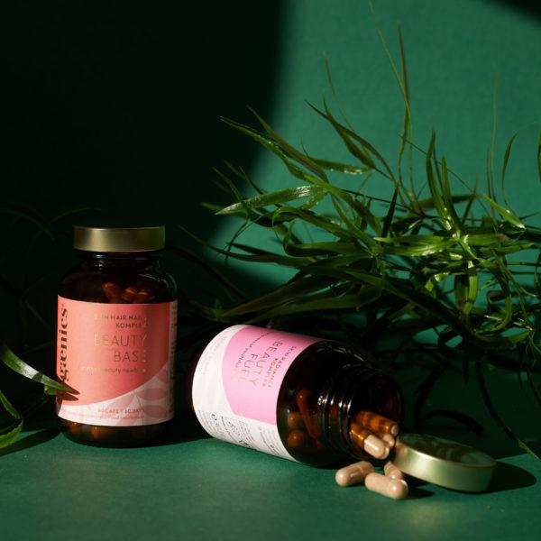 Ogaenics natürliche Nahrungsergänzungsmittel Pflege und Schutz der Haut