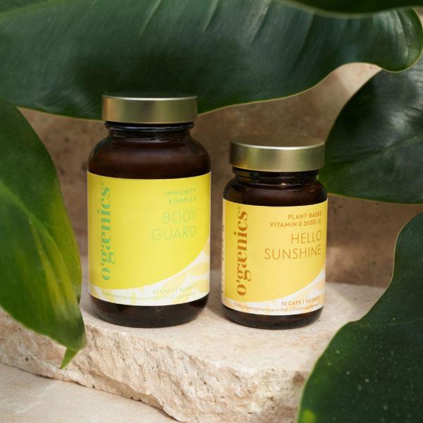 Ogaenics natürliche Nahrungsergänzungsmittel starkes Immunsystem