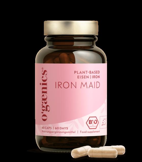 Ogaenics-iron-maid-bio-eisen-nahrungsergaenzung