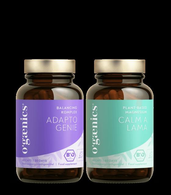 ogaenics-set-schlaf-stress-bio-vitamine-nahrungsergaenzung